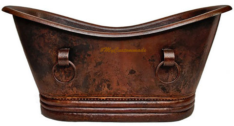 Modern Slipper copper tub
