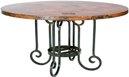 coppersmith dining table