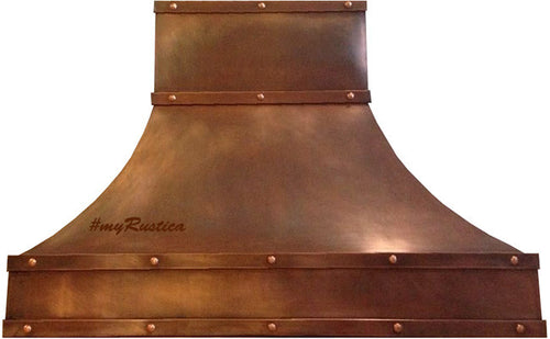 hacienda copper oven hood