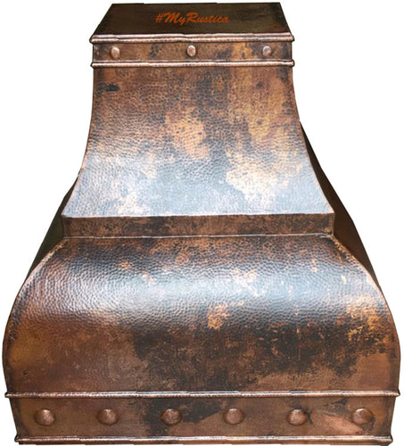 country copper stove hood