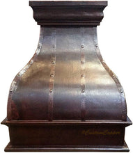 farmhouse copper vent hood