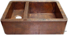 hand produced hacienda apron copper kitchen sink
