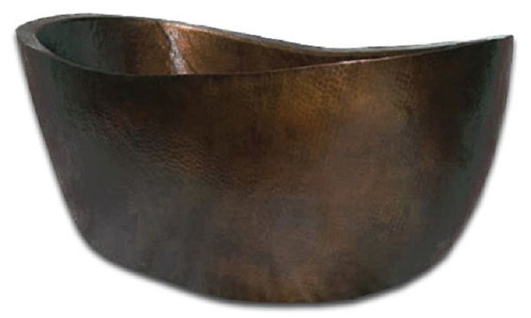 hand made copper tub