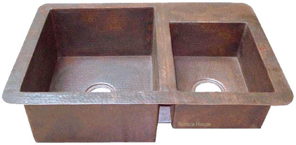 Handcrafted Mexican Copper Kitchen Sink – Custom Copper