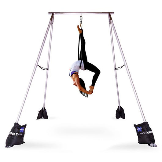 a frame for aerial silks lyra hoop aerial arts and fitness