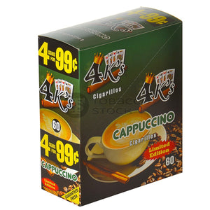 4 KINGS CIGARILLOS CAPPUCCINO POUCH
