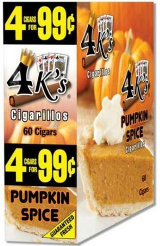 4 KINGS PUMPKIN SPICE CIGAR POUCH