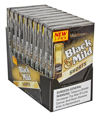 Black & Mild Pipe Tobacco Shorts 5Pk