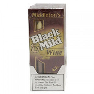 Black & Mild Pipe Tobacco Wine 5Pk