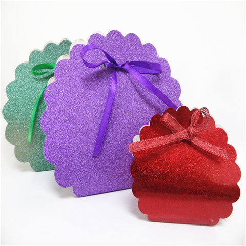 Custom packaging glitter box China wholesale with free sample