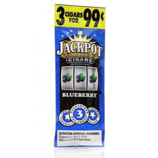 Jackpot Cigars BlueBerry 3/.99