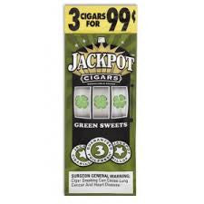 Jackpot Cigars Green Sweet 3/.99