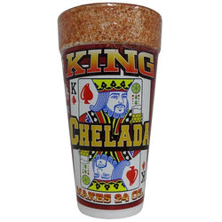 King Chelada 24oz In Foam Cup