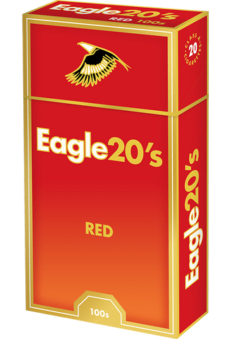 Eagle 20 Red Box 100's