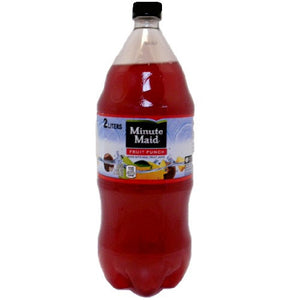 Minute Maid Soda 2 Liters --Fruit Punch