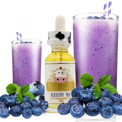 Moo eLiquids: Blueberry Milk 30mL