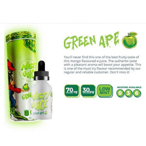 NASTY JUICE YUMMY FRUITY SERIES GREEN APPLE 50ML