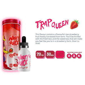 NASTY JUICE YUMMY FRUITY SERIES TRAP QUEEN RIPE STRAWBERRY 50ML