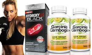 PureGenix Garcinia Cambogia 2-Pack and Hydroxycut Black
