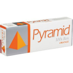Pyramid Orange Box 100's