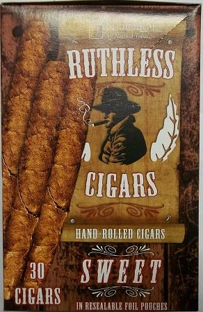 RUTHLESS NATURAL LEAF SWEET CIGARS