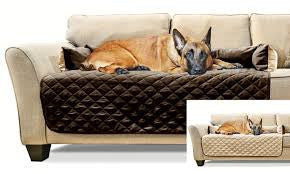 Sofa-Style Pet Bed Furniture Protector for Dogs and Cats