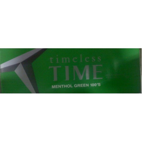 Timeless Time Menthol Green 100's