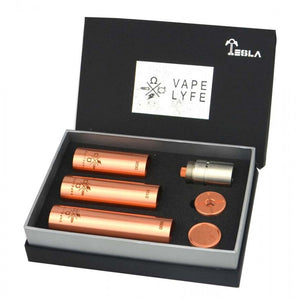 Tesla Vapelyfe Mechanical Mod Full RDA Set