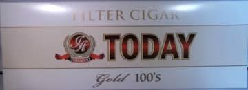 Today Filtered Cigars Gold