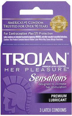 TROJAN HER PLEASURE 3CT