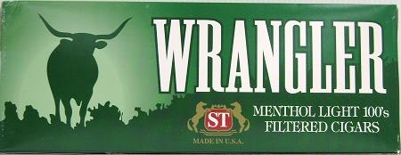 Wrangler Filtered Cigars Menthol Lights