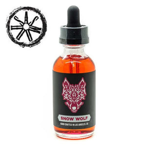 asMODus Snow Wolf Raspberry Freeze 60mL Premium E Liquid
