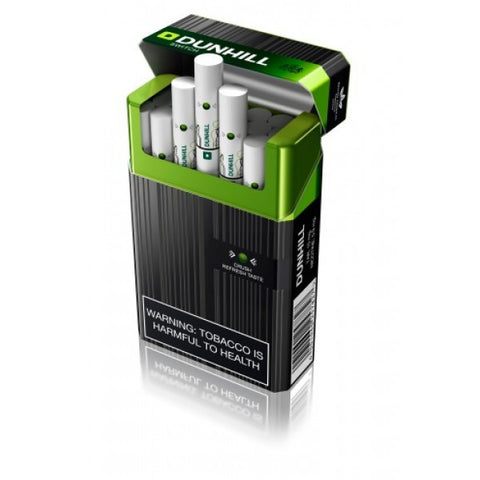 dunhill capsule switch black and green