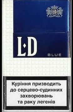 LD Blue 100's Box