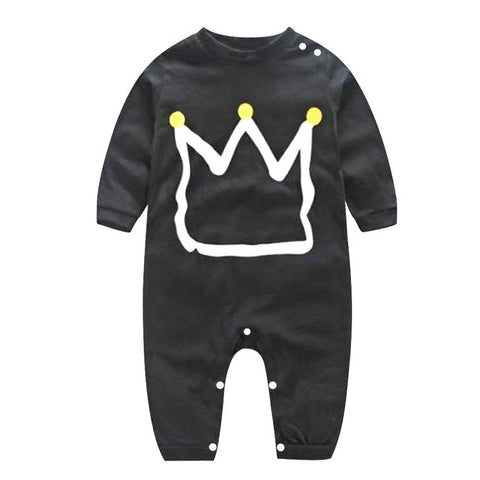 Fashion Kids Baby Cotton Long Sleeve One-piece Romper 0-24 Month Boys Girls Spring Autumn Romper Jumpsuit Clothing Outfit
