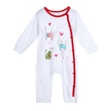 Spring Autumn Baby Romper Soft Cotton Infant Toddlers Cartoon Print Long Sleeve Rompers Jumpsuits One-piece Clothing