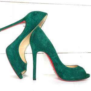 Christian Louboutin Peep Toe Pumps Sz 39