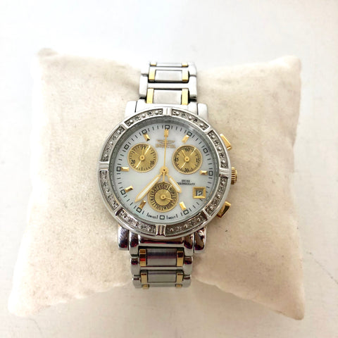 Invicta Limited Edition Mother Of Pearl Diamond Watch