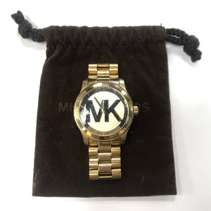 Michael Kors Goldtone Large Face Watch