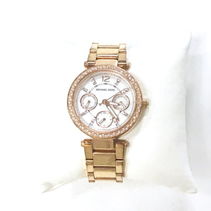 Michael Kors Rose Gold Women's Chronograph Watch