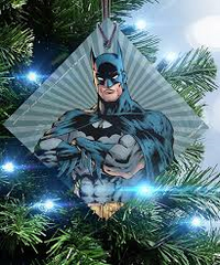 DC Comics Justice League Batman StarFire Prints Ornament