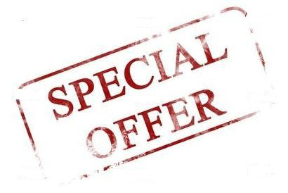 Promotion - Special Offer