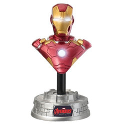 Avengers: Age of Ultron Iron Man Light-Up Resin Bust Paperweight - The Nerd Source Code