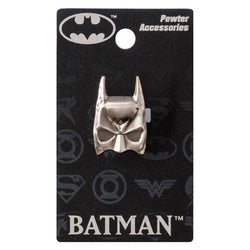 Batman Mask Pewter Lapel Pin - The Nerd Source Code