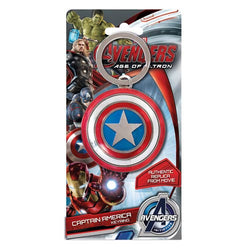 Captain America Shield Pewter Keyring - The Nerd Source Code