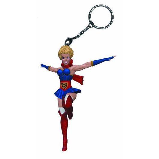 DC Bombshells - Supergirl Keychain - The Nerd Source Code