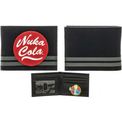 Fallout Nuka Cola Canvas Bi-Fold Wallet - The Nerd Source Code