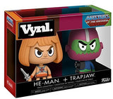 Masters of the Universe - He-Man & Trapjaw Vynl. Figure 2 Pack - The Nerd Source Code