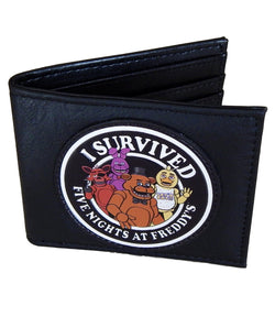 I Survived Five Nights at Freddy's Bi-Fold Wallet - The Nerd Source Code