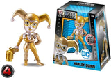 "Jada Toys Metals Die Cast Harley Quinn Gold 4"" - The Nerd Source Code"